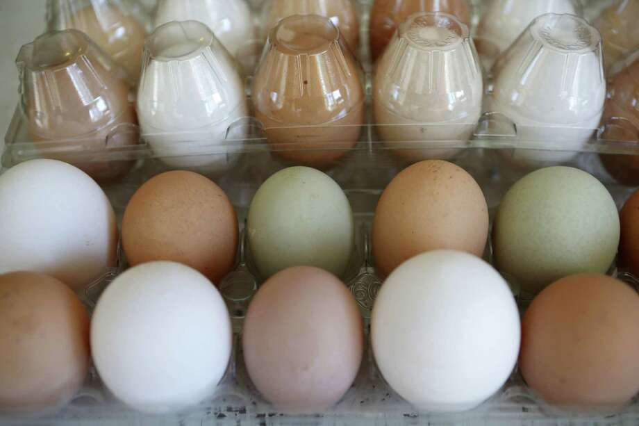 Higher prices for eggs, pork and milk were offset by lower costs for vegetables, fresh fruits and beef, among other items. Photo: Associated Press /File Photo / Copyright 2016 The Associated Press. All rights reserved. This material may not be published, broadcast, rewritten or redistribu