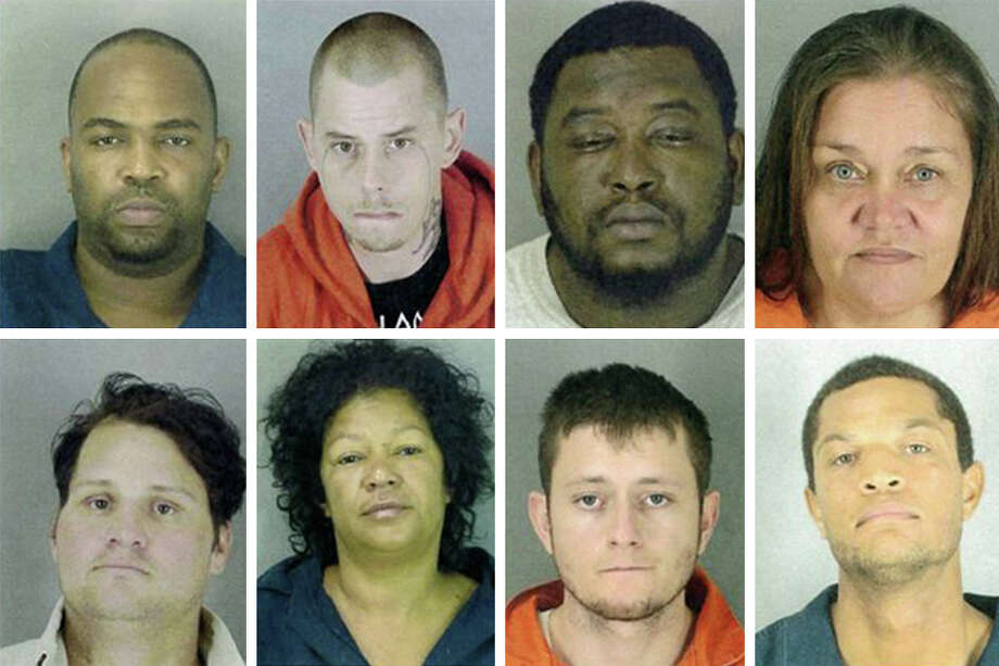 The Jefferson County Sheriff's Office released information about nine 'Most Wanted' suspects on Feb. 7, via Facebook. Photo: Jefferson County Sheriff's Office