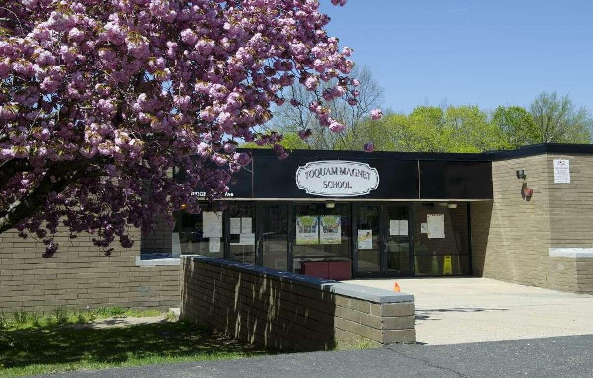 Toquam Magnet School on Thursday, May 2, 2013.