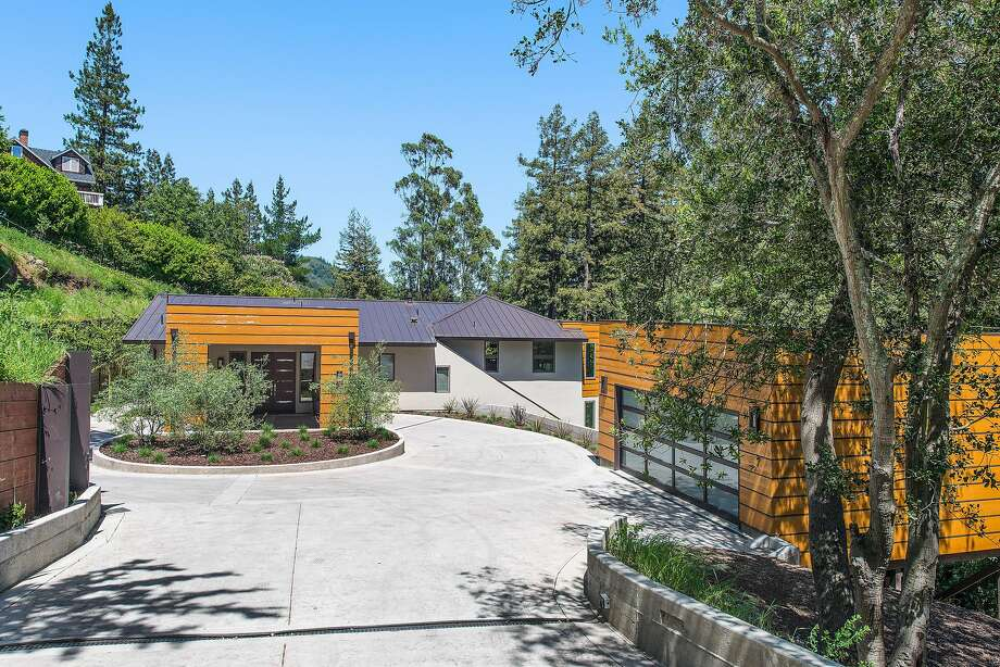 560 Summit Ave. in Mill Valley is a four-bedroom contemporary estate available for $4.75 million.  Photo: Open Home Photography