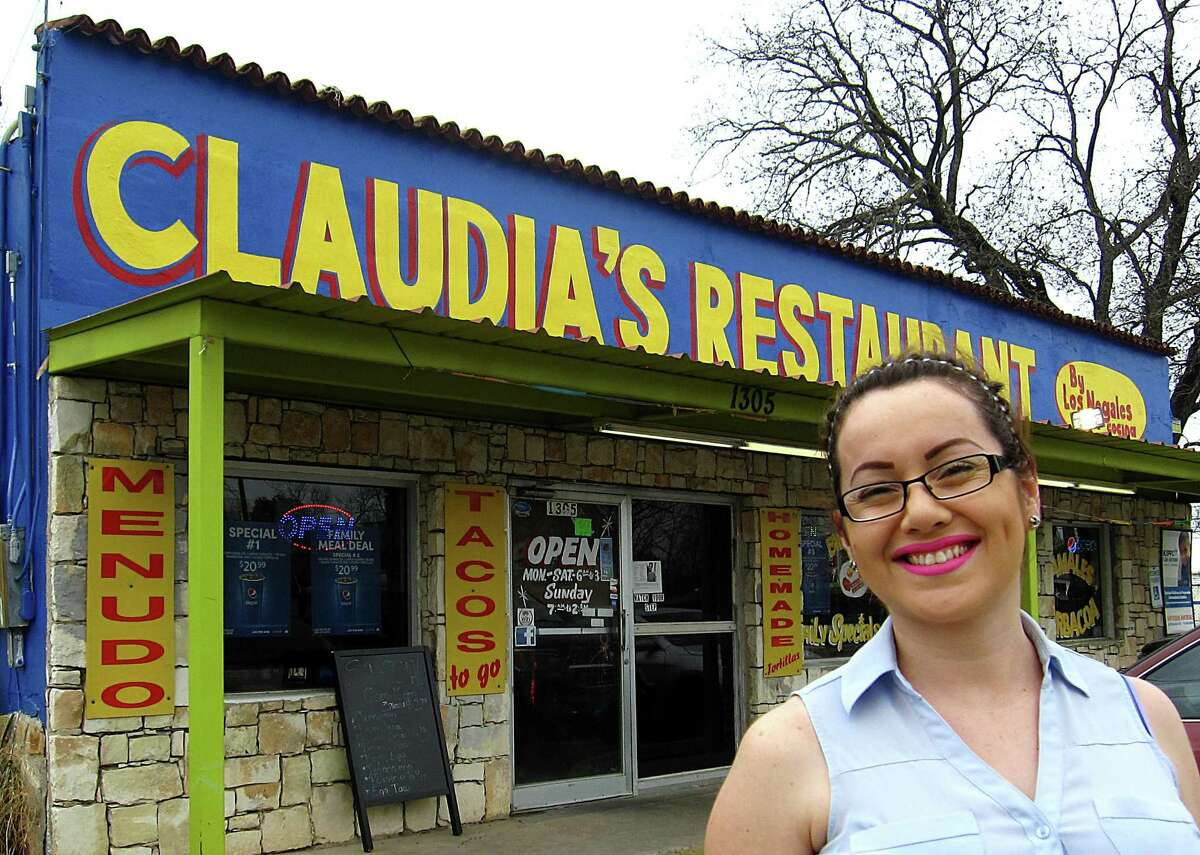 Claudia Ayon started Claudia's Restaurant on Pleasanton Road in San Antonio in November 2016. Before that, she ran Claudia's Tacos, a food truck on Division Street.