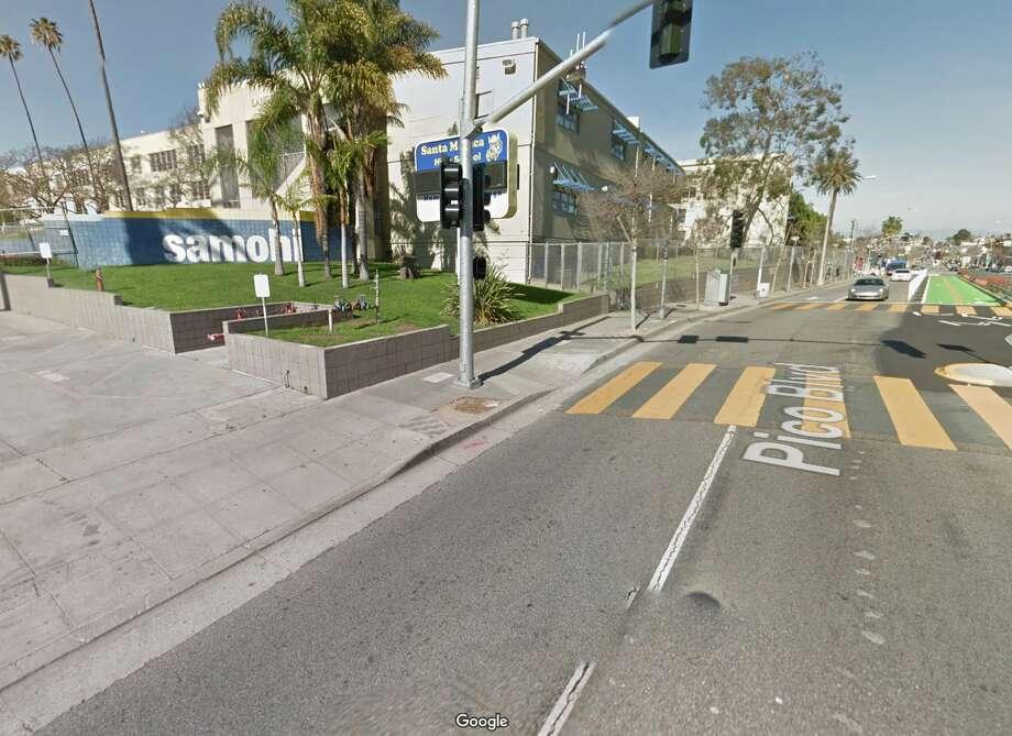 A Google Street View of Santa Monica High School. Photo: Google Maps