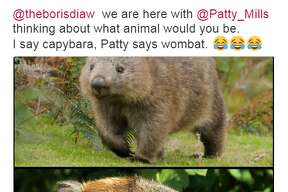 @manuginobili: @theborisdiaw  we are here with @Patty_Mills thinking about what animal would you be.  