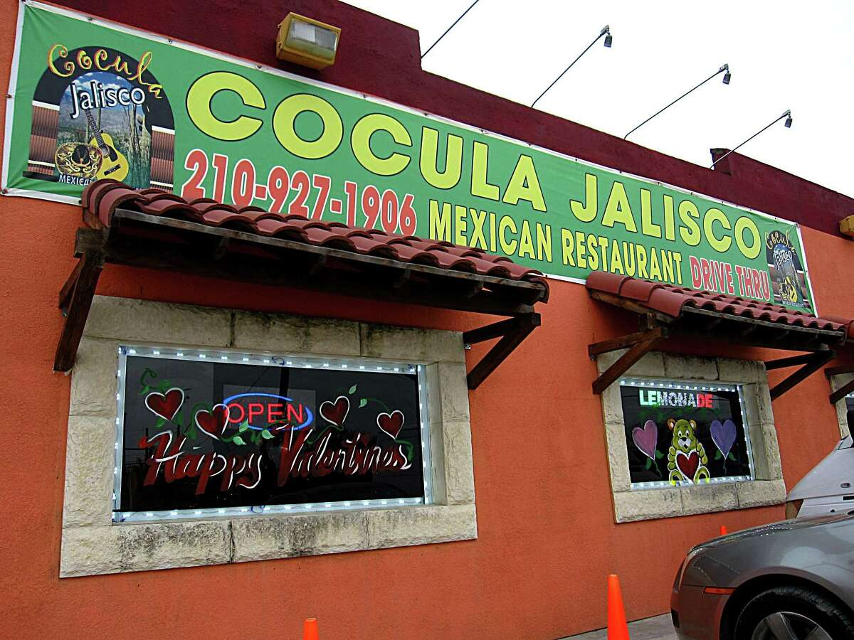 Cocula Jalisco Mexican Restaurant: 4849 Roosevelt Ave., San Antonio, TX 78221 Date: 01/24.2018 Score: 75 Highlights: Inspector observed employees handling ready-to-eat foods with bare hands; food not held at correct temperature (barbeque); food not protected from cross-contamination (raw chicken, ready-to-eat foods); toxic chemicals see stored near food area; prepared foods must be labeled with expiration date; establishment re-used one-time-use containers for food storage; bulk foods must be properly labeled; ceilings, walls, floors must be smooth, easily cleanable; hot water not available at handwashing sink