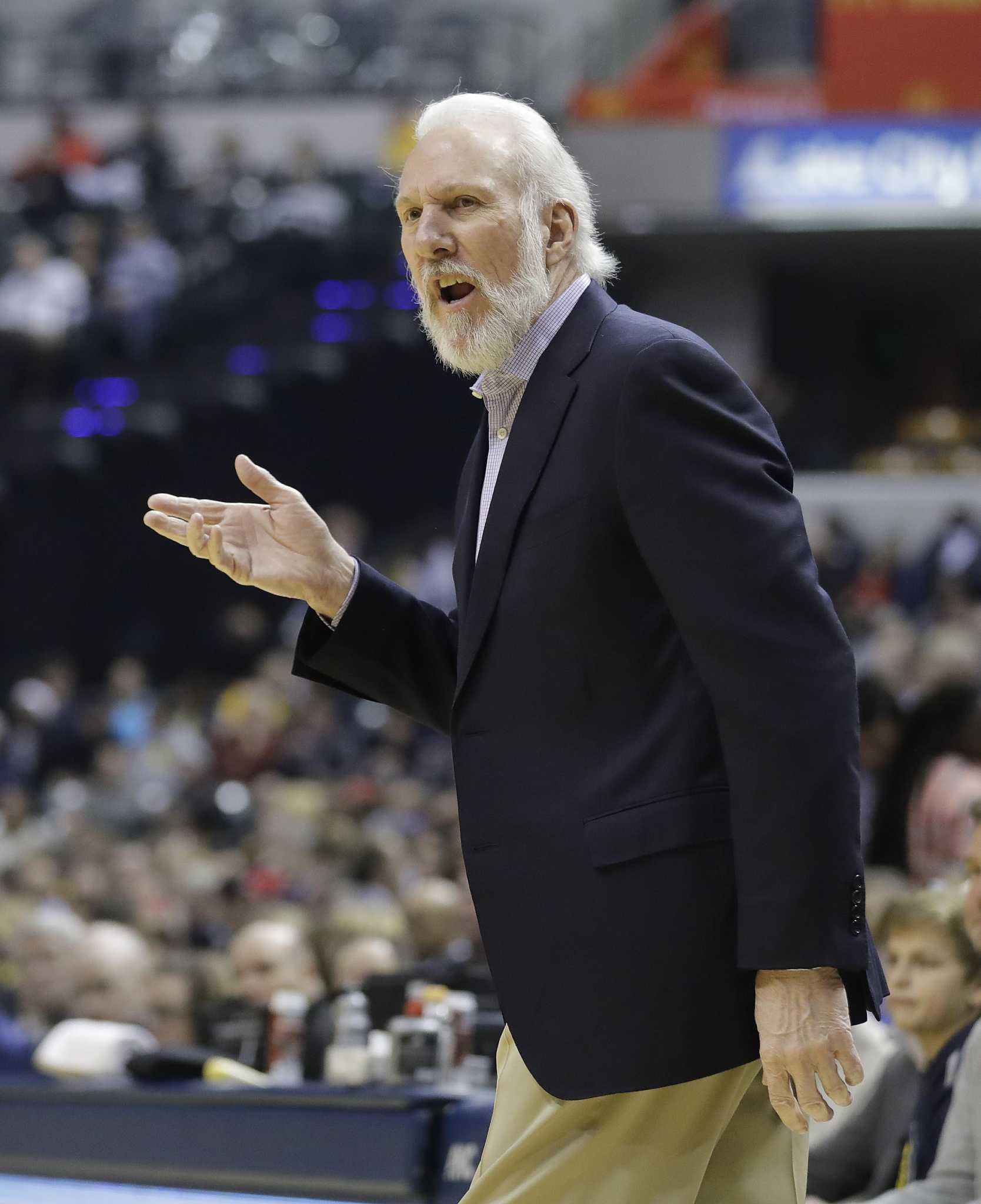 Spurs Coach Gregg Popovich Finds A Voice As Critic Of