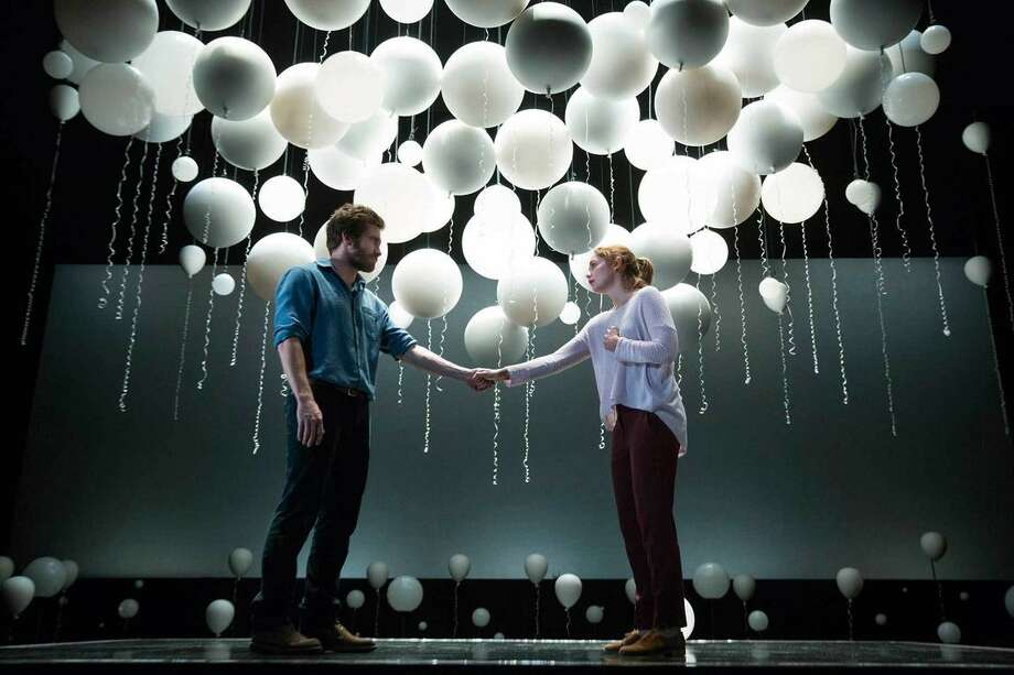 """The 2015 Broadway production of """"Constellations"""" starred Jake Gyllenhaal and Ruth Wilson."""