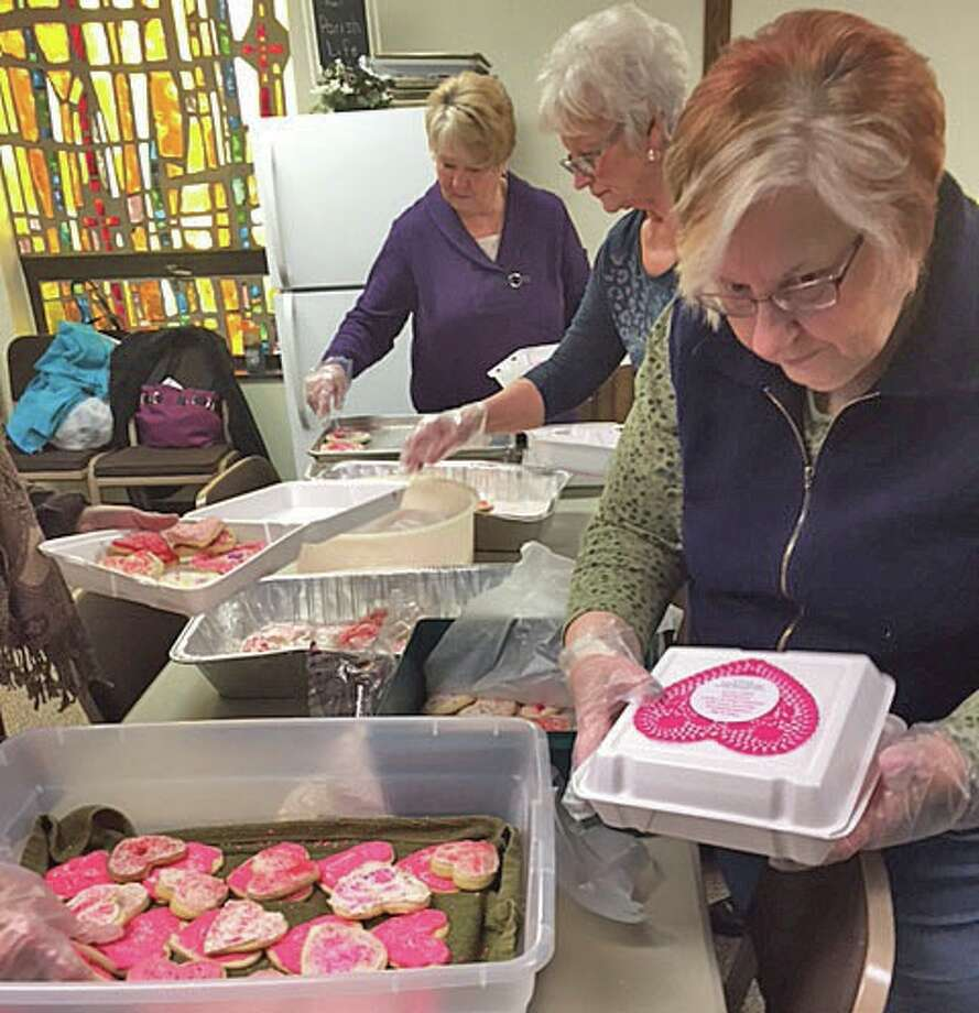 """The ministry of Mission/Outreach at Cross Lutheran Church in Pigeon recently held """"Hearts for the Homeless."""" Photo: Submitted Photo"""