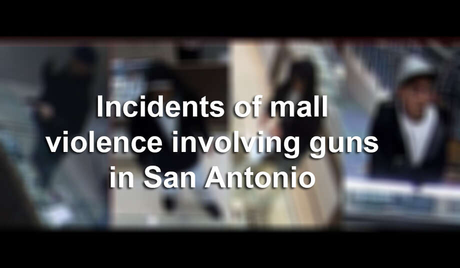 Click ahead to learn about recent incidents of mall violence involving guns in San Antonio. Photo: Mysa