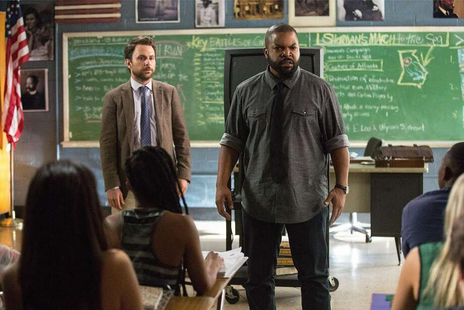 Charlie Day (left) plays a timid teacher facing the possibility of losing his job. His anxiety is heightened after fellow teacher Ice Cube challenges him to a fight. Photo: Bob Mahoney/Warner Bros, TNS
