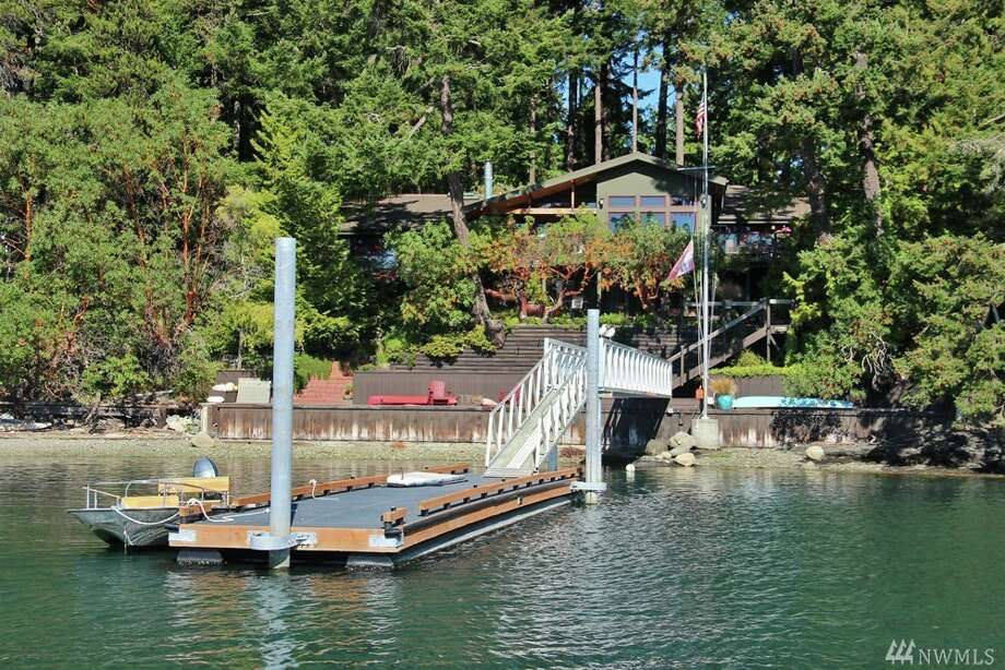 3 Brown Island near Friday Harbor is listed for $1.595 million. You can see the full listing here. Photo: Listing And Photos Courtesy Of Sam Buck/Coldwell Banker San Juan Island