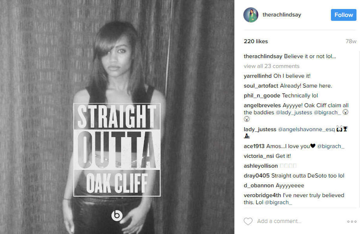 Her 'hood is Oak Cliff The specific neighborhood the beauty grew up in is Oak Cliff, a burgh south of Dallas city center. Source: Instagram
