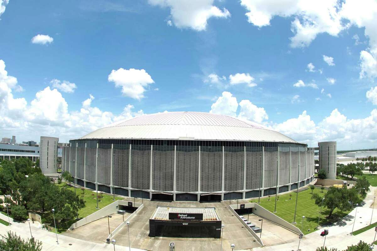 County Judge Ed Emmett sees the Astrodome as a historic county building that has little to do with Harris County's obligations as it relates to NRG Stadium. Instead of tearing it down for $30 million, he prefers the plan to prepare it for possible additional uses for $110 million. ( Nick de la Torre / Chronicle )