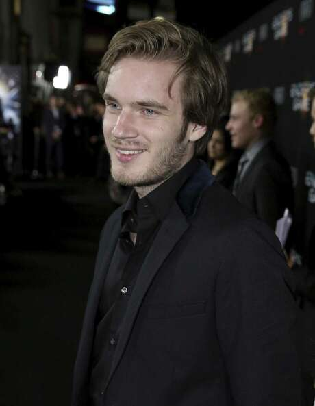 """Felix """"PewDiePie"""" Kjellberg has been dropped from Disney's Maker Studios and YouTube has canceled his reality series following a Wall Street Journal report that he made anti-Semitic videos. Photo: Associated Press /File Photo / Invision"""