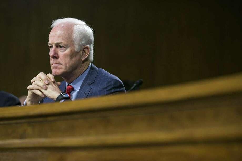 FILE PHOTO: Sen. John Cornyn (R-Texas). Photo: AL DRAGO /NYT / NYTNS