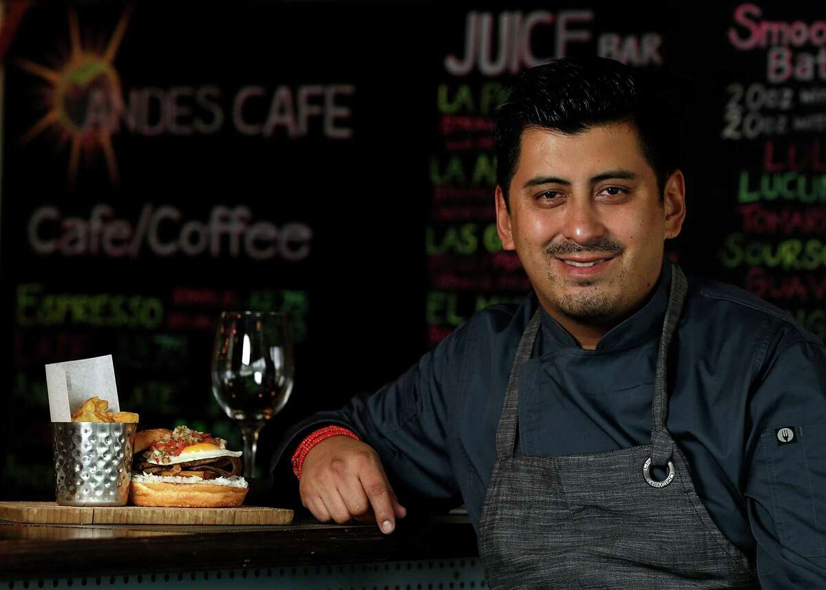 Andes Cafe chef/owner David Guerrero.