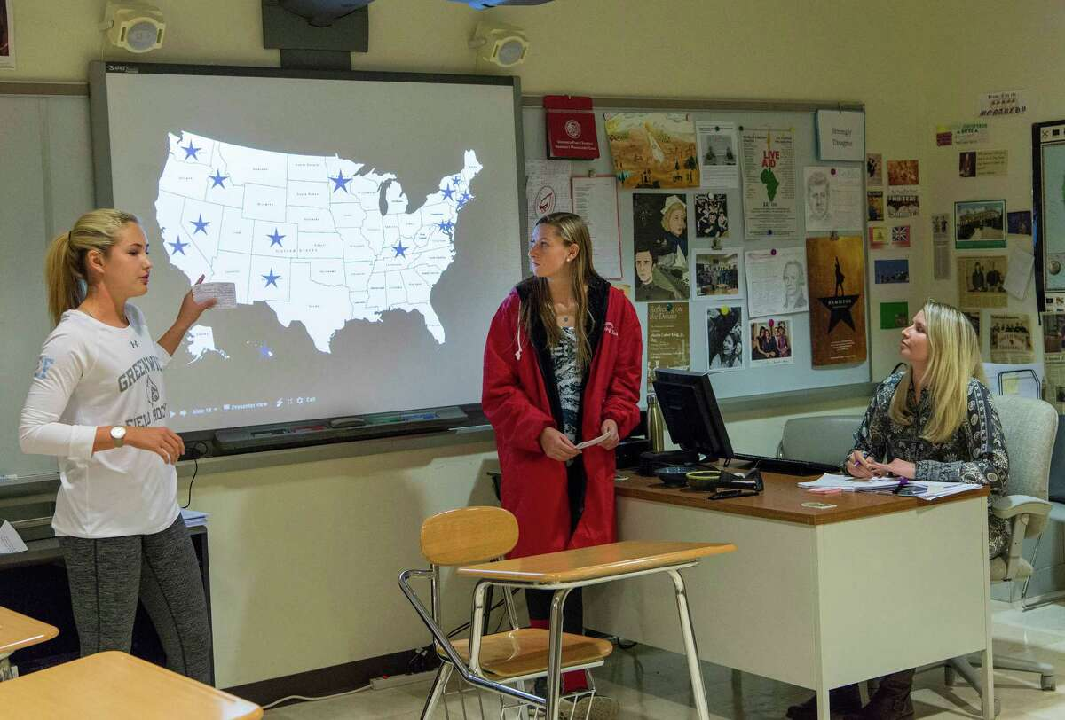Our public schools are the arena for civic education. In fact, civic education is a core founding mission, as our Founding Fathers were acutely aware. (Mark Conrad / For Hearst Connecticut Media)