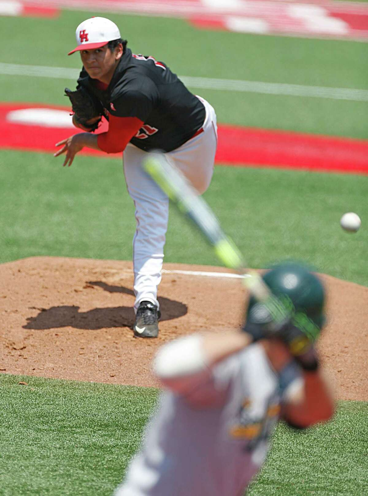 You will be seeing less of UH's Seth Romero on the mound in 2017 as the junior lefthander has lost about 40 pounds.