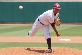 TAMIU pitcher Eduardo Rodriguez and the Dustdevils lost 11-2 Tuesday to St. Edward's.