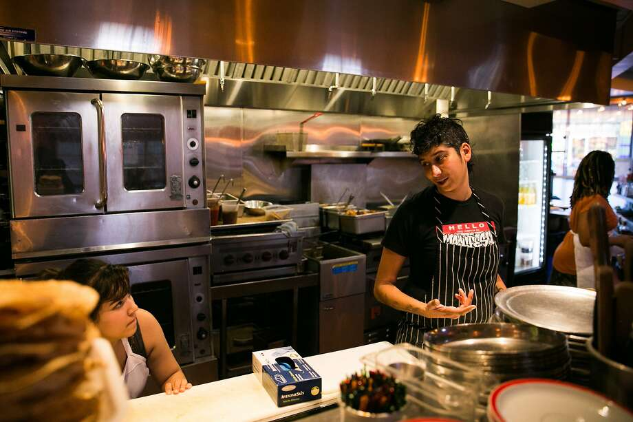 Preeti Mistry, right, of Juhu Beach Club (pictured) opened Navi Kitchen in Emeryville. Photo: Mason Trinca, Special To The Chronicle