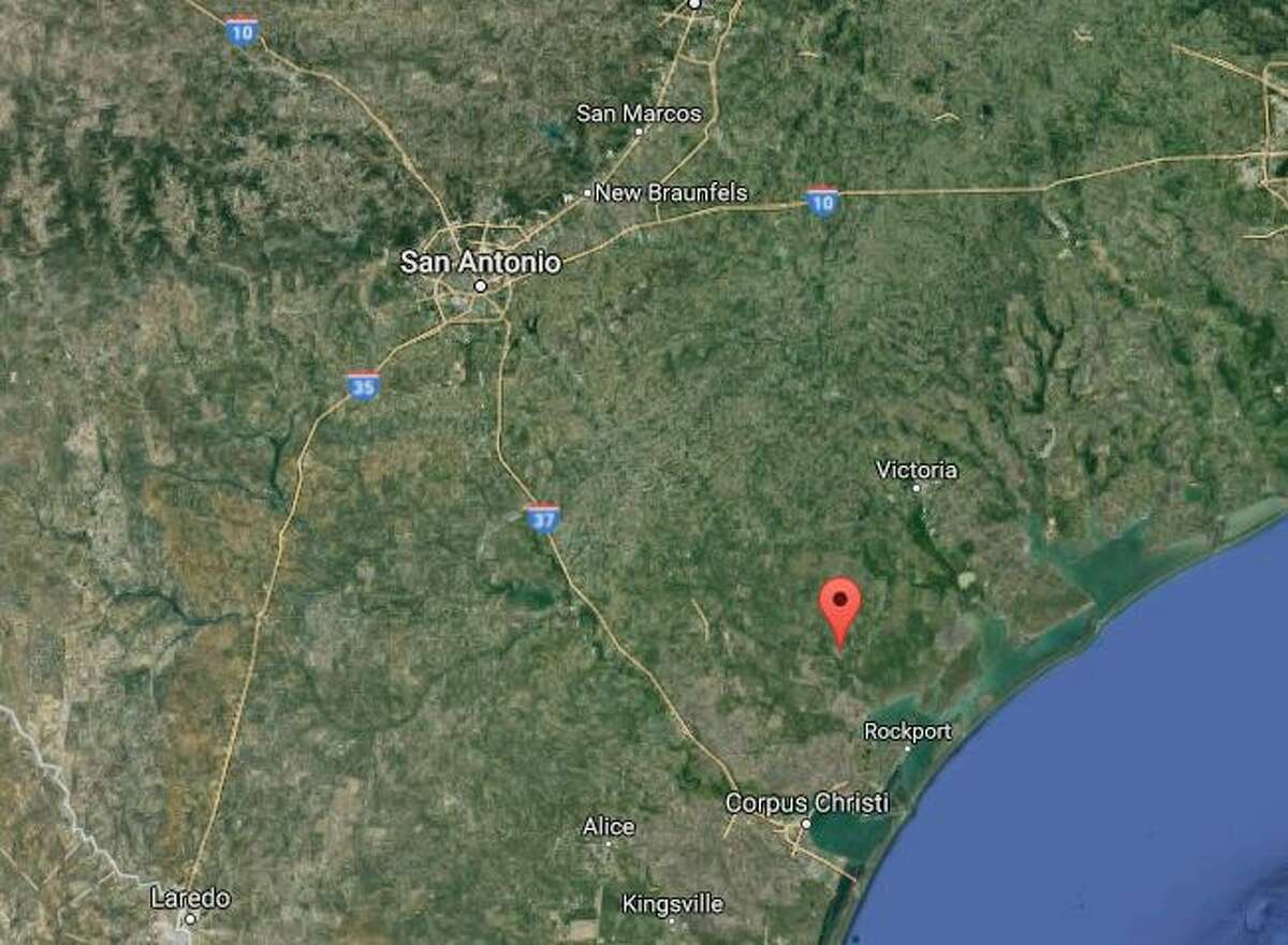A gas pipeline explosion in Refugio was seen and felt more than 50 miles away on Wednesday, Feb. 15, 2017.