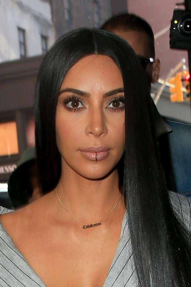 Kim Kardashian arrives at the Mercer Hotelon February 14, 2017 in New York City. Photo: Pierre Suu/GC Images