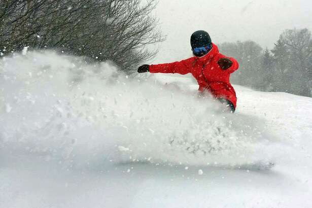 Stratton Mountain in Vermont received 27 inches of snow this week. All 97 trails are now open the first time this season.