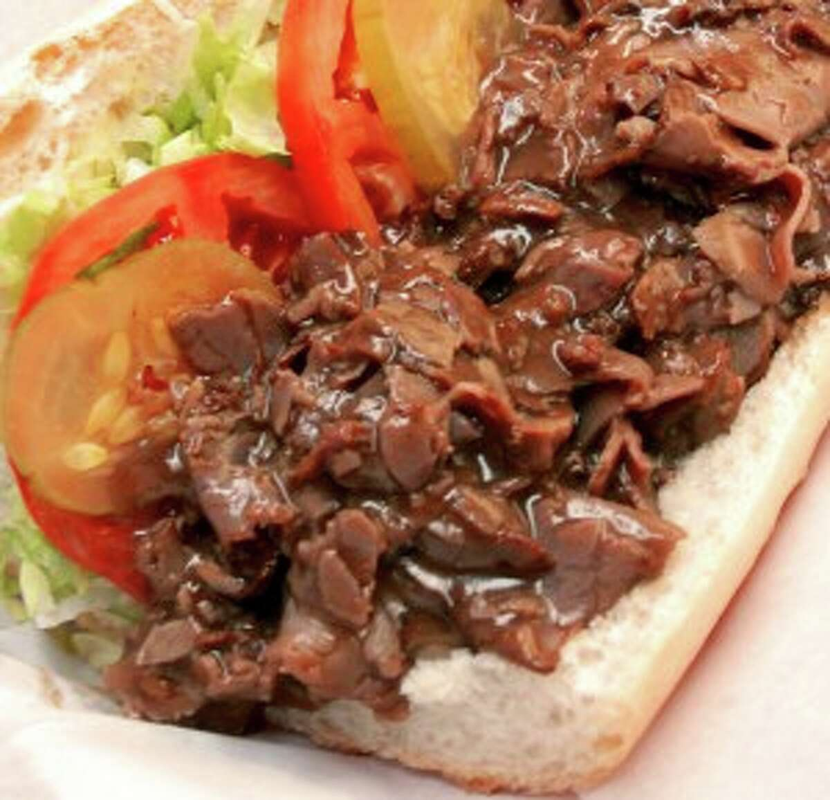 NOLA Poboys, a New Orleans-based fast-casual restaurant, will open its first restaurant in Houston on Feb. 17 at 1333 Old Spanish Trail. Shown: Beef debris po'boy. The second restaurant, at 300 W. Bay Area Blvd., is now open in Webster.