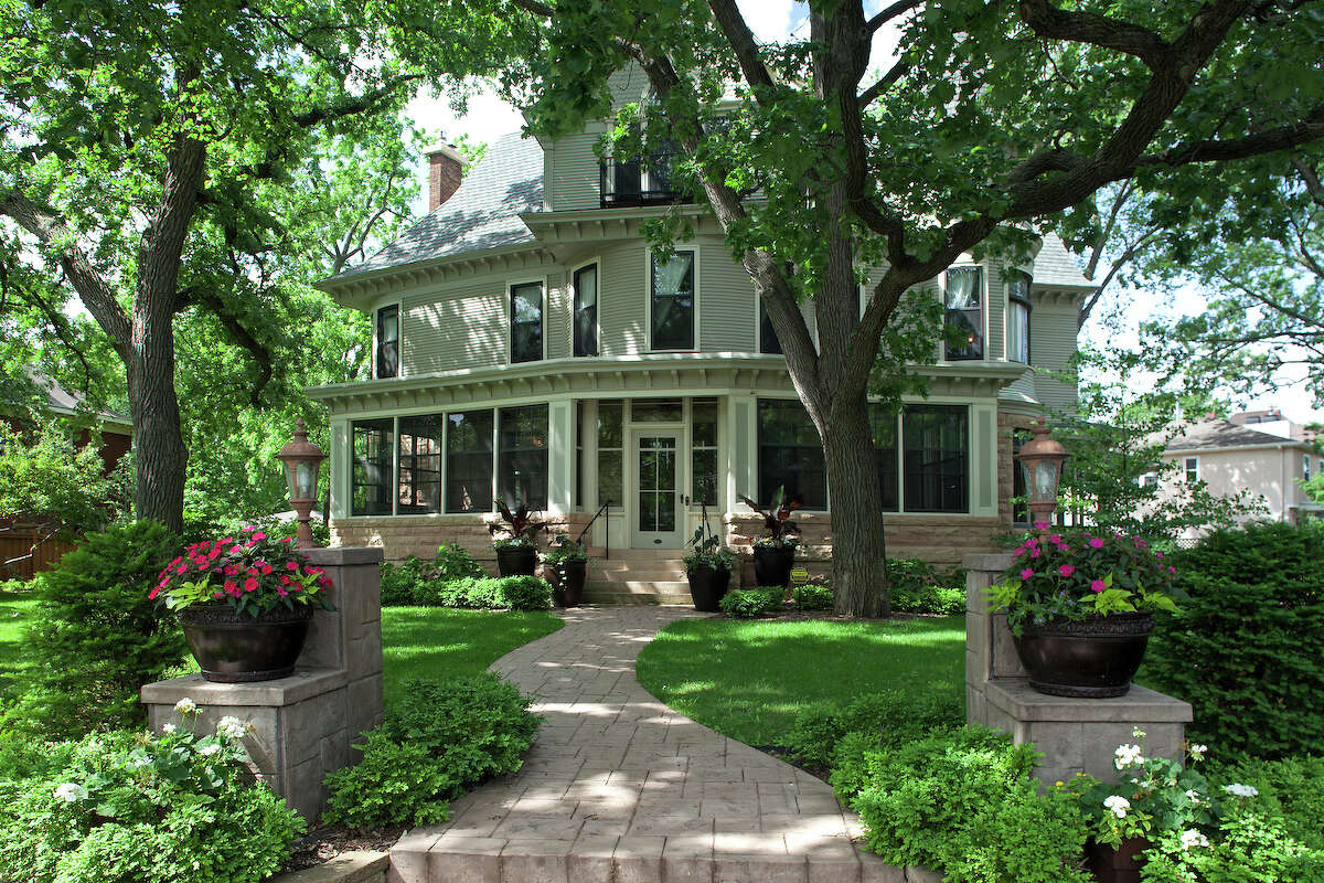 Part of this early 1900s Victorian home in Minneapolis was used as a set for the