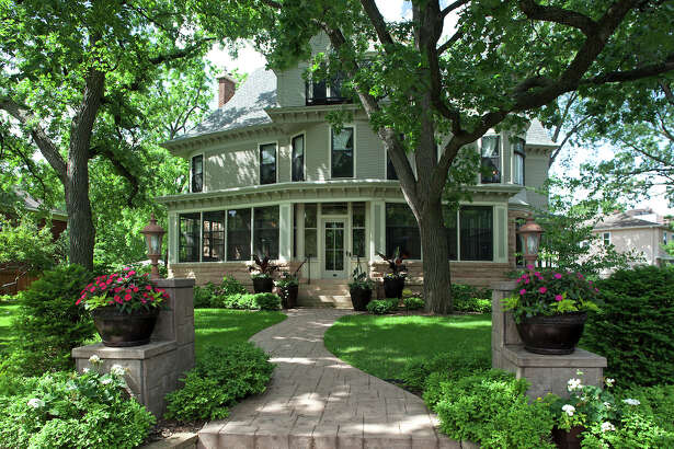 "Part of this early 1900s Victorian home in Minneapolis was used as a set for the ""Mary Tyler Moore Show."" It became known as ""TV's most famous bachelorette pad."""