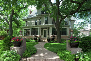 """Part of this early 1900s Victorian home in Minneapolis was used as a set for the """"Mary Tyler Moore Show."""" It became known as """"TV's most famous bachelorette pad."""""""