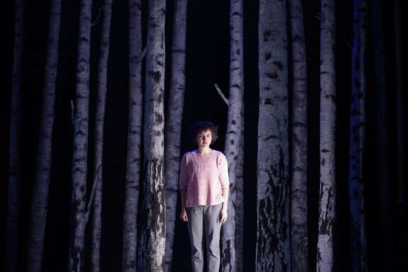 """Lucy Mangan stars inthe Alley Theatre production of """"Let The Right One In."""""""