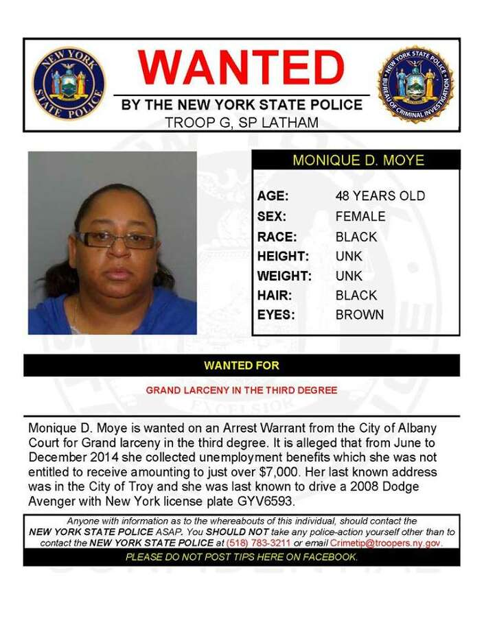 Warrant Wednesday: Troy woman wanted in Albany - Times Union