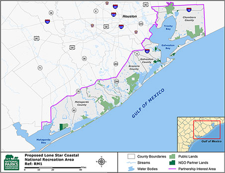 Proposal to unite Lone Star coastal lands could boost tourism, jobs