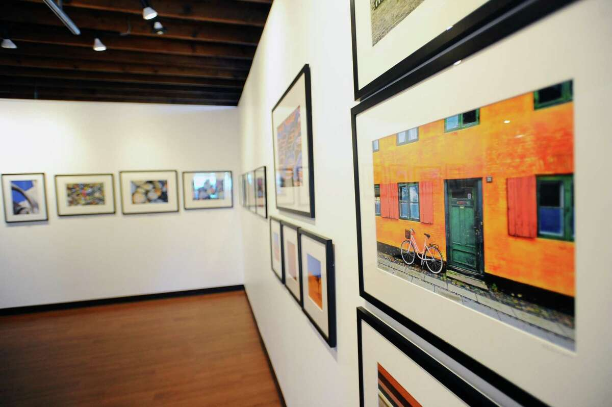 Stamford photographers Phyllis Sinrich and Deborah Loeb Bohren are showing their travel photography in the exhibit Wanderlust inside the Loft Artists Association on Pacific Street. Photographed in Stamford, Conn. on Tuesday, Feb. 14, 2017.