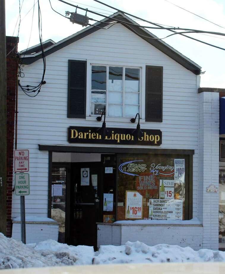 Darien Liquor Shop in Darien, CT on Feb. 13, 2017. Photo: Erin Kayata / Hearst Connecticut Media / Darien News
