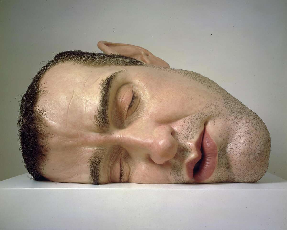 PHOTOS: The work of Ron Mueck coming to the MFAH Ron Mueck, Mask II, 2001-02. Click through to see more of the Australian artists quirky artwork...