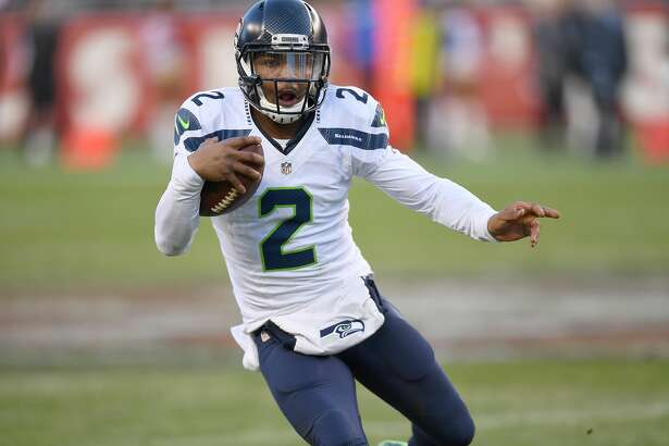 SANTA CLARA, CA - JANUARY 01:  Trevone Boykin #2 of the Seattle Seahawks runs with the ball against the San Francisco 49ers during the fourth quarter of their NFL football game at Levi's Stadium on January 1, 2017 in Santa Clara, California.  (Photo by Thearon W. Henderson/Getty Images)