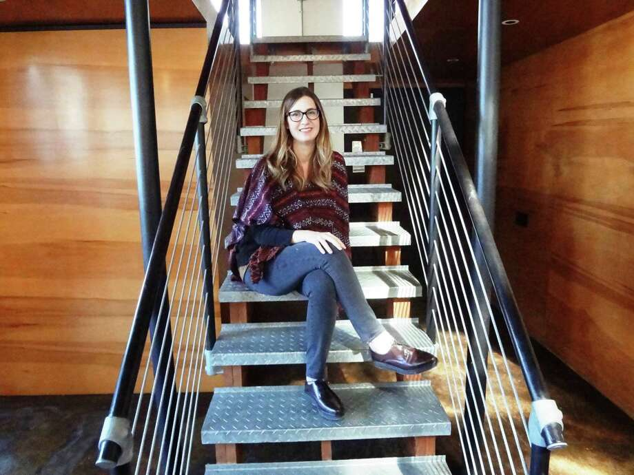 Architect Kristin Hefty, shown at her Sixth Street office in San Antonio, is making a name for herself as a leading restaurant designer. Click ahead to see before and after photos from Dado Group's projects. Photo: Steve Bennett / San Antonio Express-News