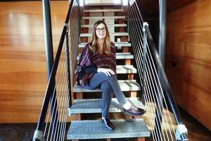 Architect Kristin Hefty, shown at her Sixth Street office in San Antonio, is making a name for herself as a leading restaurant designer.