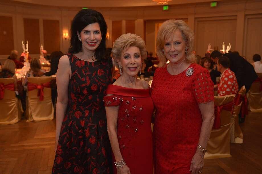 Kelli Cohen Fein, Margaret Alkek Williams, and Mary Ann McKeithan. Photo: Jerry Baker/For The Chronicle