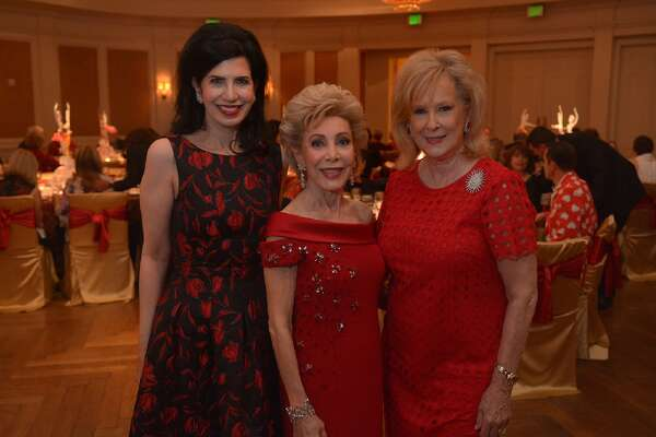 Kelli Cohen Fein, Margaret Alkek Williams, and Mary Ann McKeithan