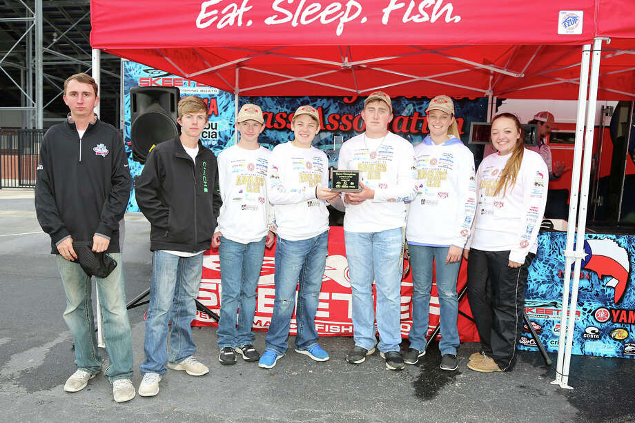 Montgomery HS Team came in first place in the Texas High School Bass Association Tournament. Photo: Debbie Pietsch