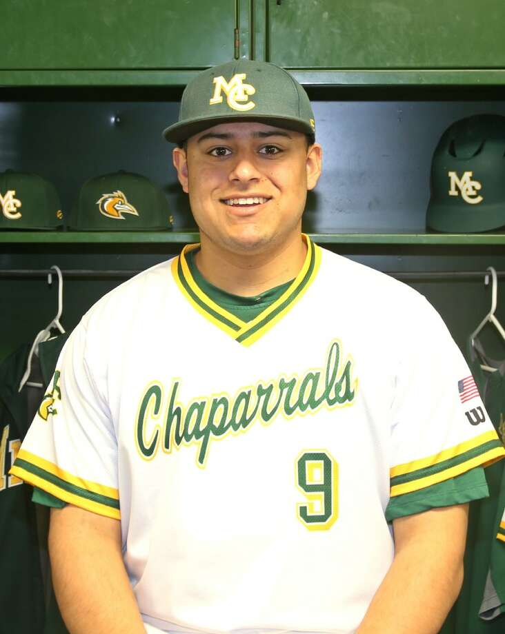 MC baseball player Alex Salcido.