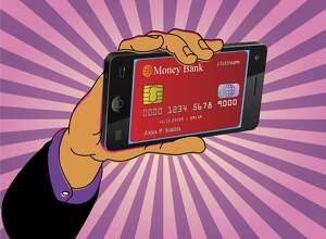 Major banks are already testing -- and will soon offer more widely -- teller machines that give you access with your phone, dispensing with the need for an ATM card. But the feature raises new security issues. (Minh Uong/The New York Times) -- FOR EDITORIAL USE ONLY WITH �BANKS ATM PHONES BY STACY COWLEY FOR FEB. 14, 2017. ALL OTHER USE PROHIBITED. --