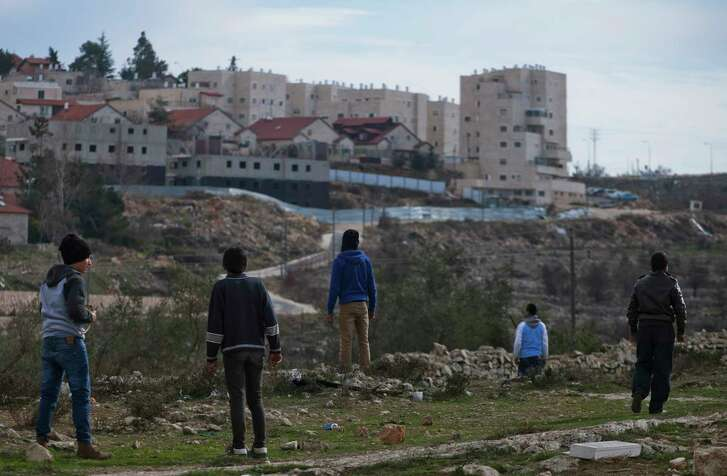 Beit El is an Israeli settlement near Ramallah in the West Bank. David Friedman, President Trump's nominee as envoy to Israel, has close ties to the religious settlement deep in the Israeli-occupied West Bank. (Rina Castelnuovo/The New York Times)