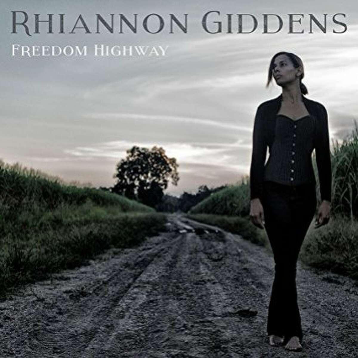 "CD cover, Rhiannon Giddens, ""Freedom Highway"""