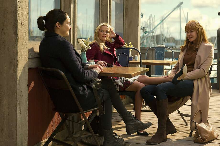 Shailene Woodley, Reese Witherspoon and Nicole Kidman in HBO's 'Big Little Lies.' Photo: HBO, Hilary Bronwyn Gayle/courtesy Of HBO