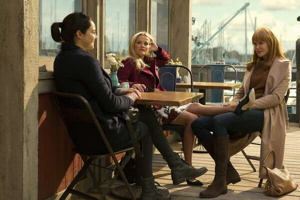 Shailene Woodley, Reese Witherspoon and Nicole Kidman in HBO's 'Big Little Lies.'
