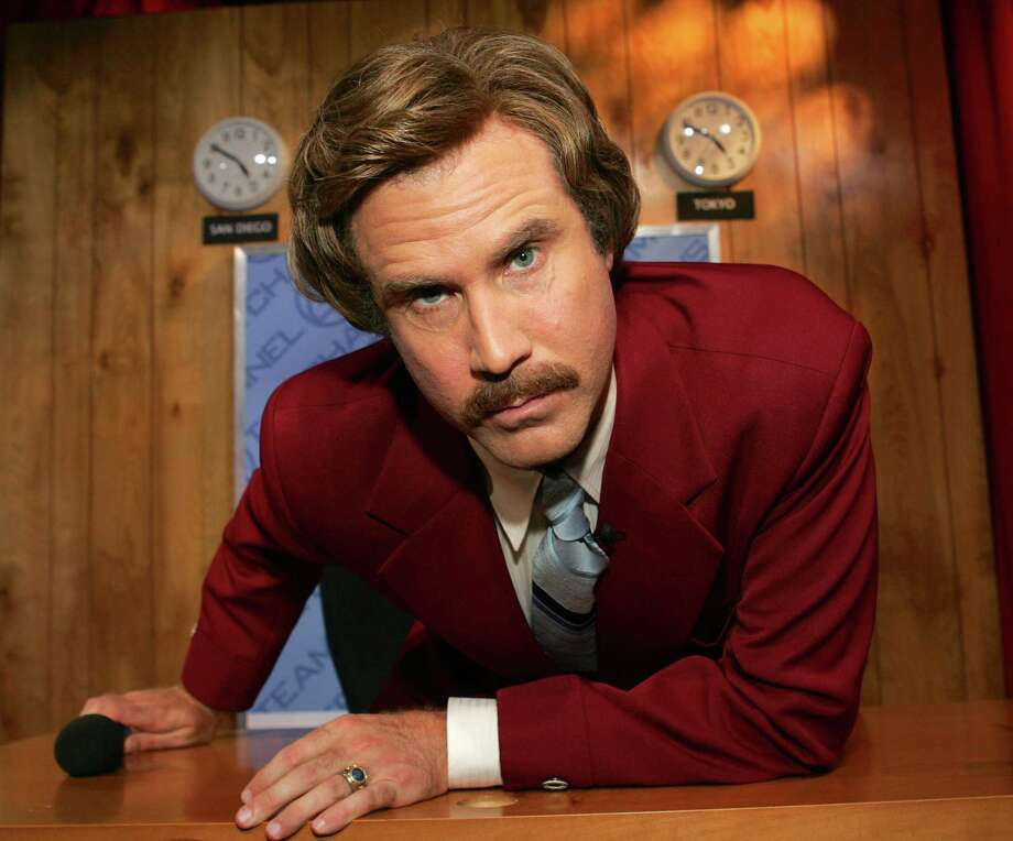 "Actor Will Ferrell as ""Ron Burgundy"" from ""Anchorman."" Photo: Frank Micelotta, Getty Images / 2004 Getty Images"