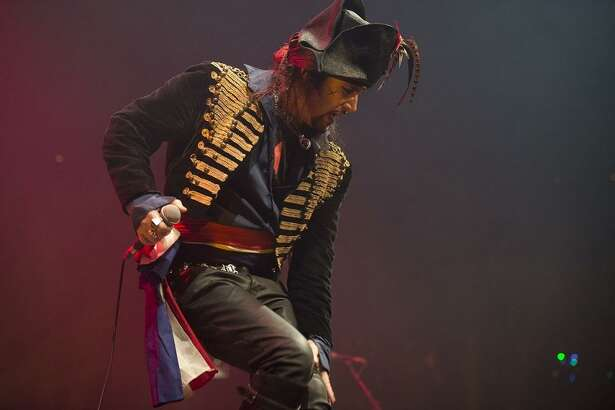Pop icon Adam Ant at the Roundhouse in London